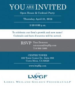 Invitation Reminder